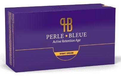 perle bleue creme
