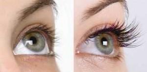 make lash långa ögonfransar