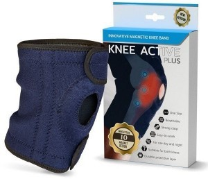 oikaisunauhaa Knee Active Plus