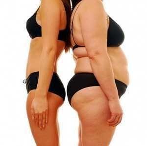 efektivní úbytek hmotnosti