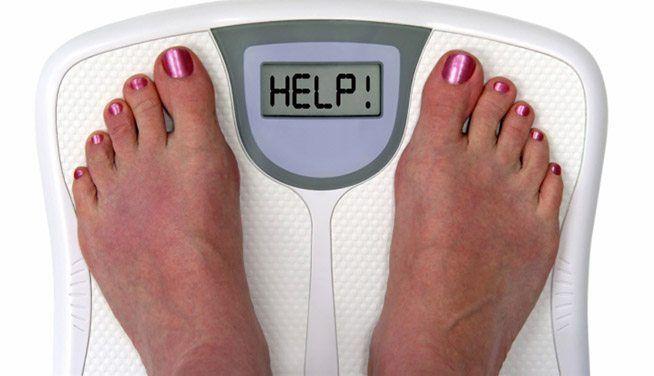 przybieranie na wadze