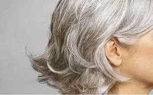 Grey Blocker cheveux gris sur les femmes