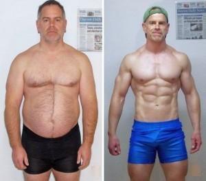 Musculin Active lihasmassamuutos
