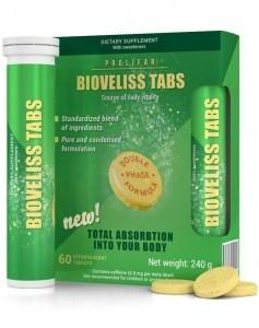 Bioveliss-Registerkarten